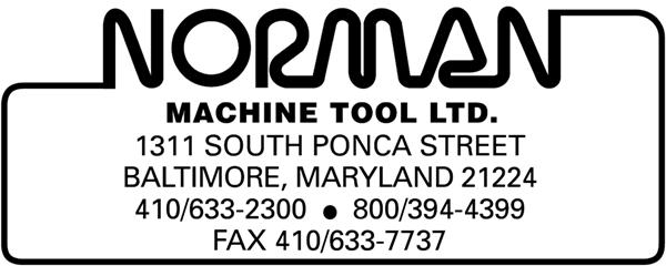 Norman Machine Tool