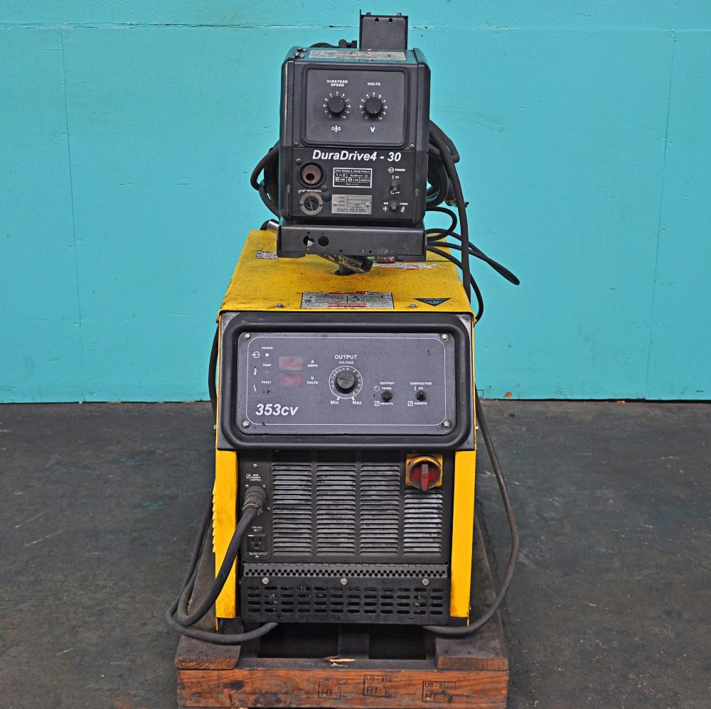 Esab 353CV Mig Welder With Duradrive 4-30 Wire Feeder