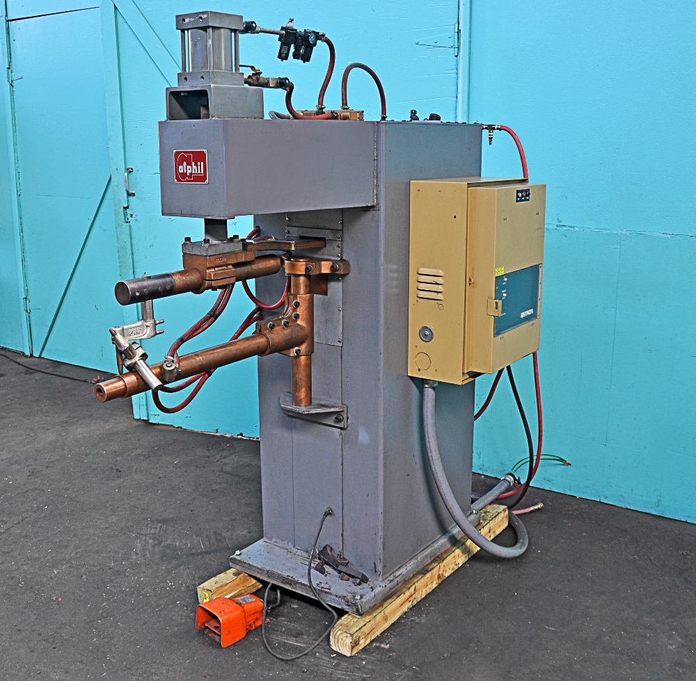 Alphil 50 KVA Press Type Spot Welder - Norman Machine Tool