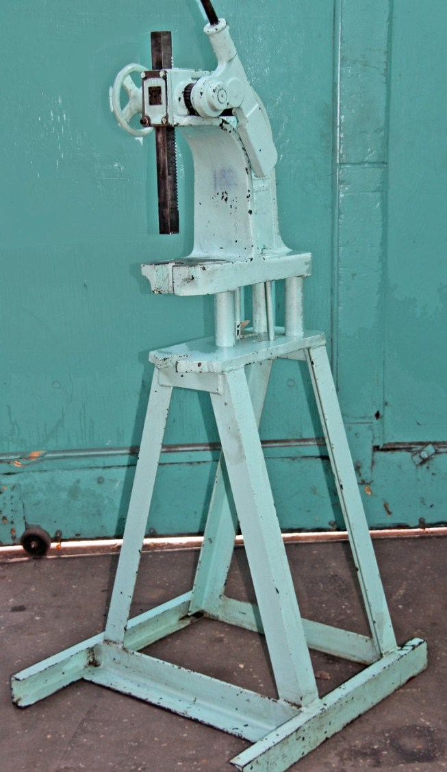Dake 3 Ton Ratchet Leverage Arbor Press With A-Frame Stand – SALE PENDING