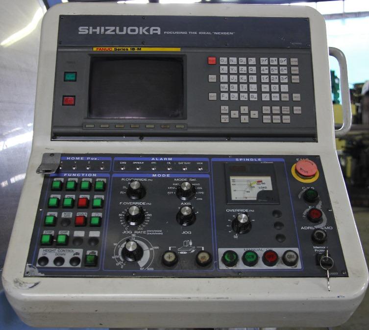 Shizuoka Sv-4020 Cnc Vertical Machining Center With Fanuc Series 18-m Cnc  Control