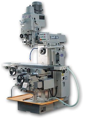 Horizontal Milling Machine >> Sharp 51 X 11 Vertical Horizontal Milling Machine Vh 3