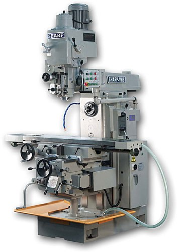 Horizontal Milling Machine >> Sharp 51 X 11 Vertical Horizontal Milling Machine Vh 3 Norman