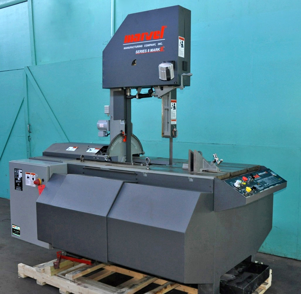 """... Marvel 18"""" x 22"""" Vertical Tilting Band Saw with Power Tilting Head  Option, ..."""
