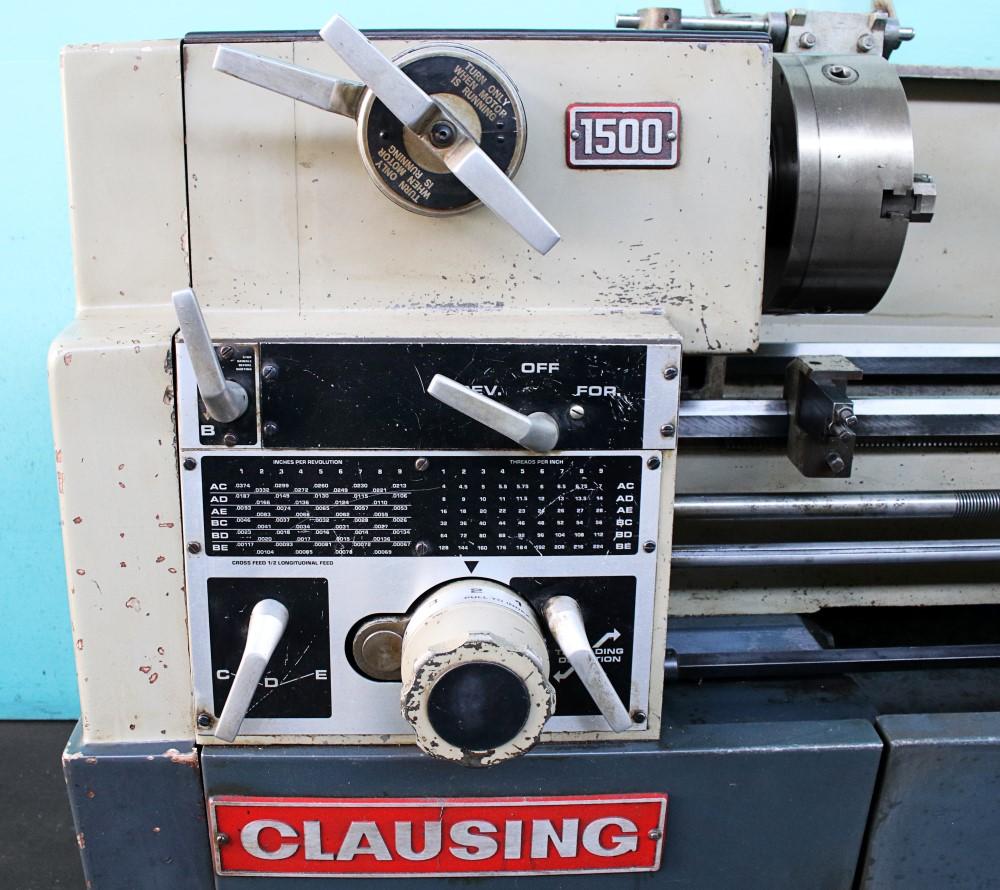"... Clausing 1500-Series 14"" x 48"" Turret Lathe-SALE ..."