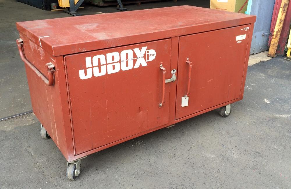 Jobox Jobsite Steel Storage Box, ...