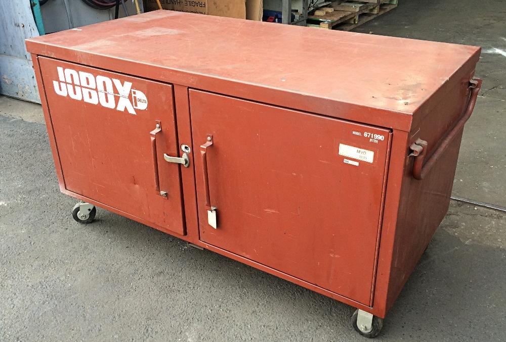 Charmant ... 671990 Jobox Jobsite Steel Storage Box, ...