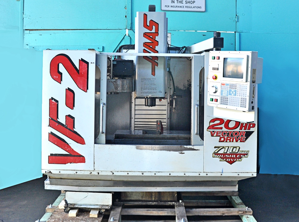 Haas VF 2 Vertical 3 Axis CNC Machining Center