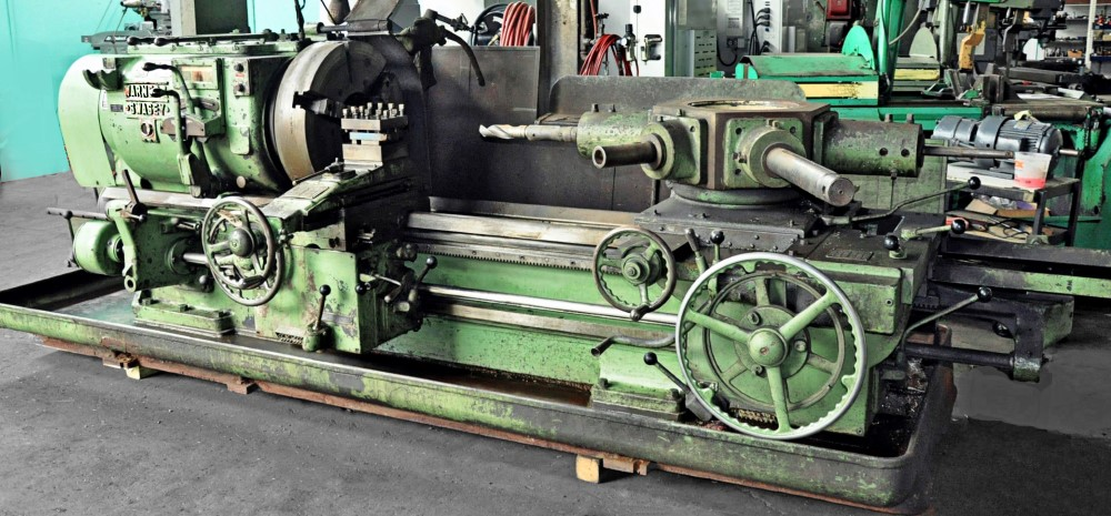 Warner & Swasey 4A Saddle-Type Heavy-Duty Turret Lathe – SALE PENDING