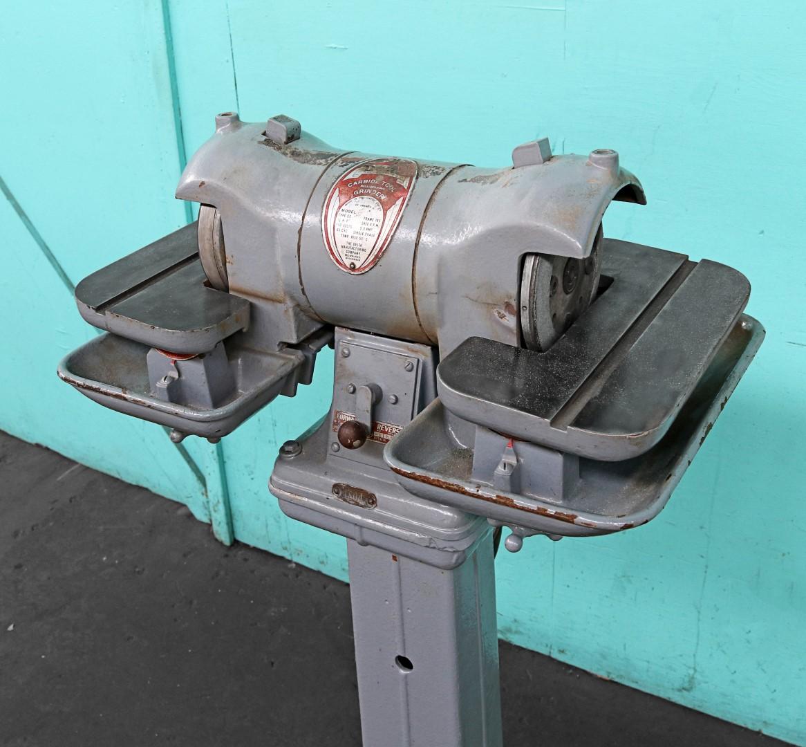 Delta 6 Quot Carbide Tool Grinder Norman Machine Tool