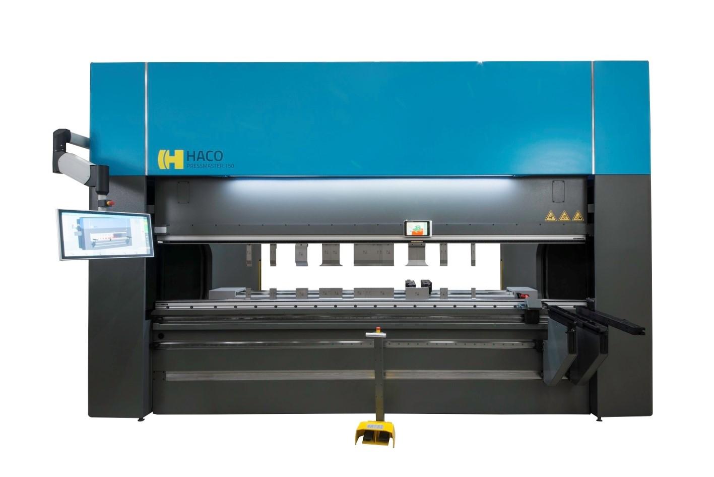 Haco 10\' x 165 Ton Multi-Axis Hydraulic CNC Press Brake with ...