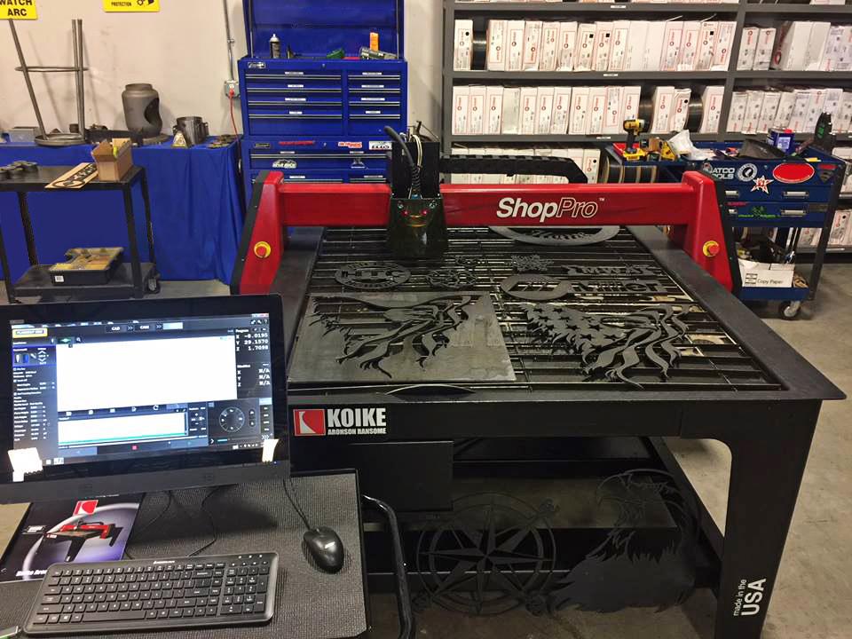 Koike Aronson Shoppro Cnc Plasma Cutting Machine Norman