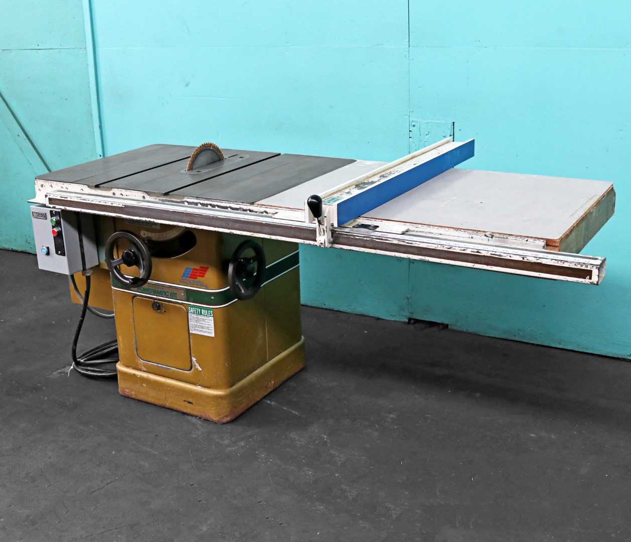 Table saw safety rules best table 2018 powermatic 10 tilting arbor table saw model 66 norman machine tool keyboard keysfo Choice Image