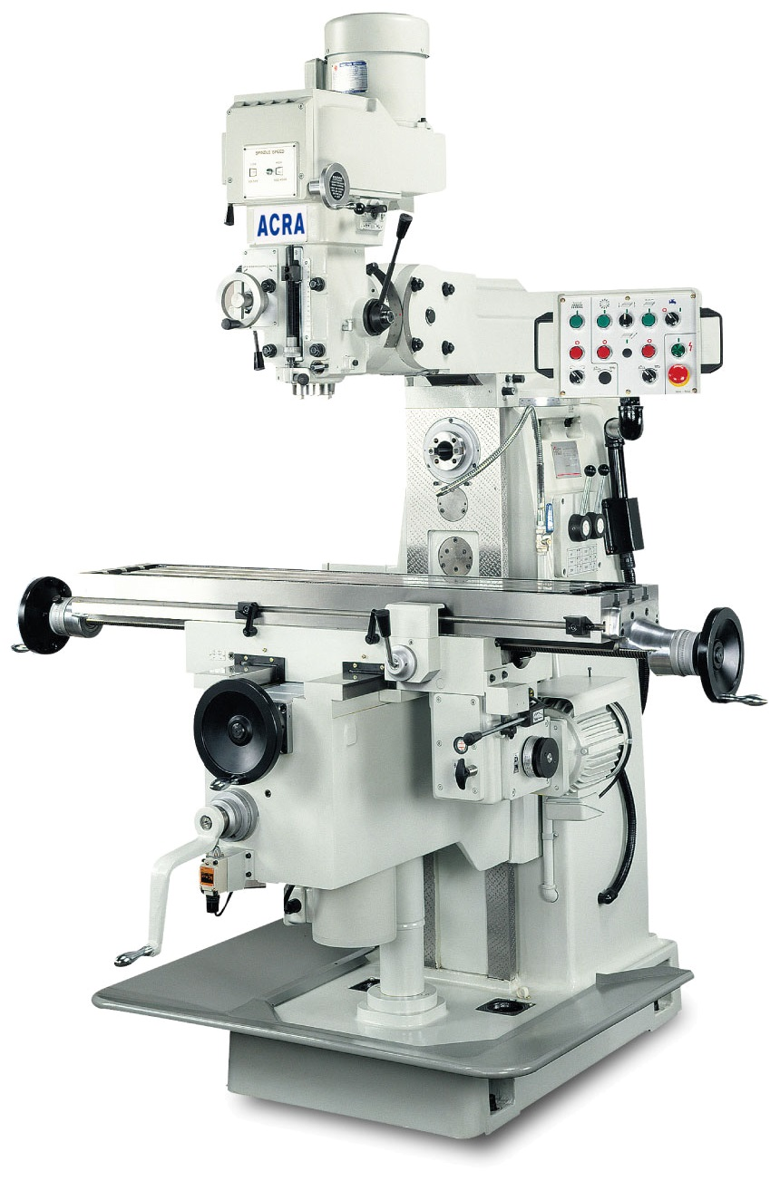 Horizontal Milling Machine >> Acra 10 X 56 Vertical And Horizontal Milling Machine Lc25vh
