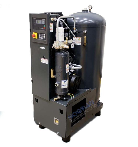 Kaeser 3 Hp 12 Cfm Airtower Rotary Screw Air Compressor