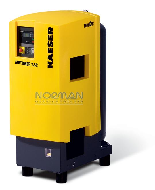Kaeser 7 5 hp 28 CFM Airtower™ Rotary Screw Air Compressor