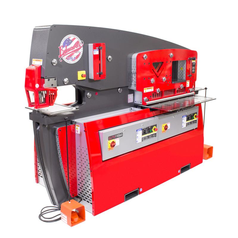 Edwards 110 65 Ton Elite Hydraulic Ironworker