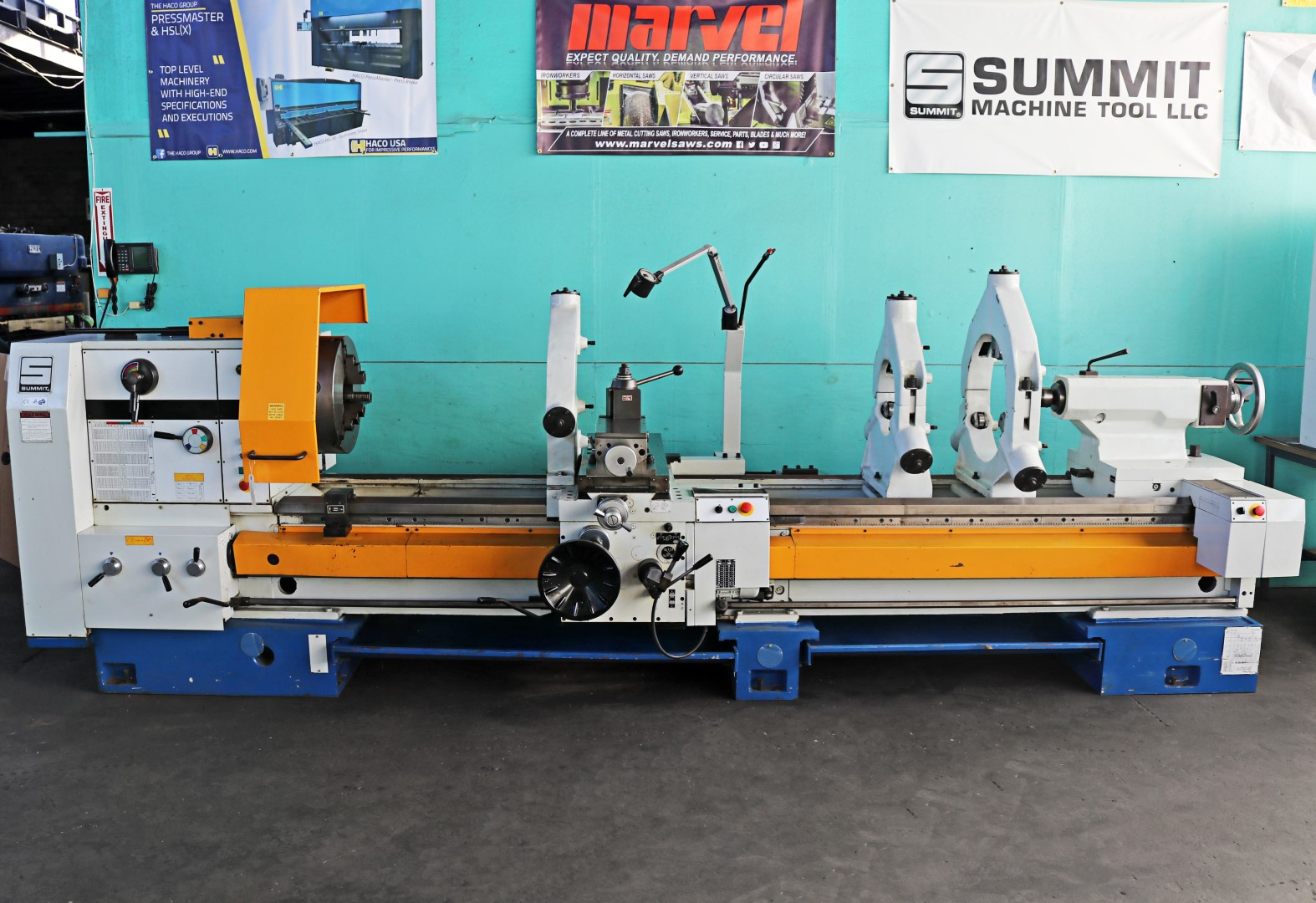 Summit 35 X 120 Heavy Duty Big Swing Wide Bed Lathe 6x120b Reversing A