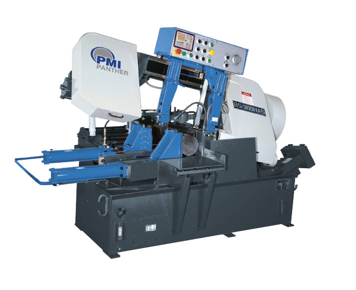 PMI Panther 10″ x 13″ Automatic Horizontal Band Saw, BS300-A