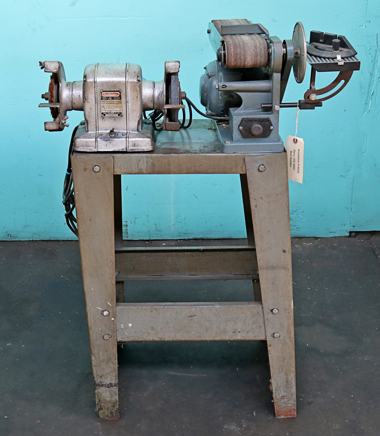 Prime Enco Belt Disc Sander And Craftsman Buffer Grinder Caraccident5 Cool Chair Designs And Ideas Caraccident5Info