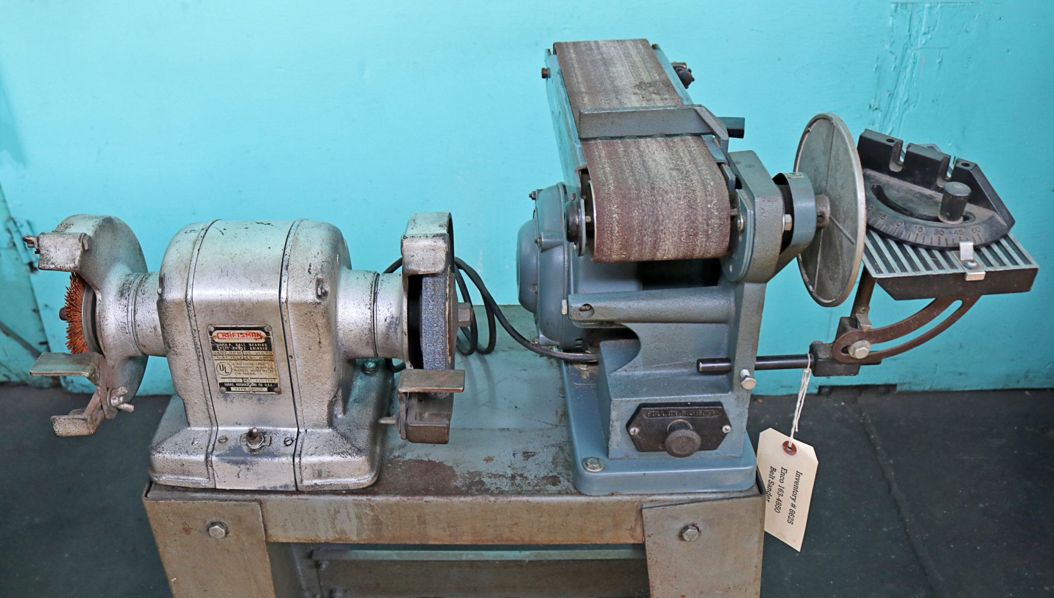 Astounding Enco Belt Disc Sander And Craftsman Buffer Grinder Caraccident5 Cool Chair Designs And Ideas Caraccident5Info