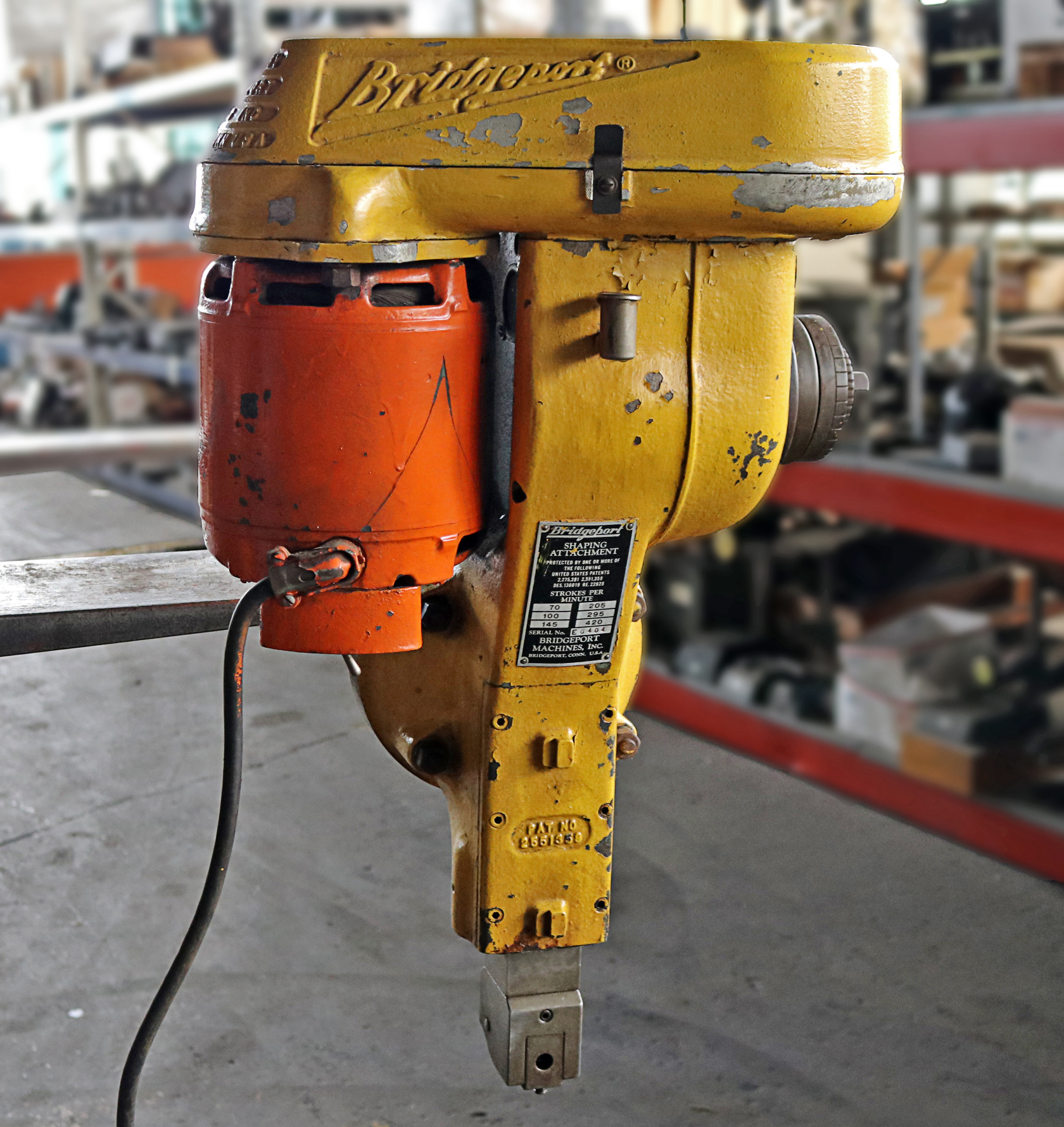 Milling Machine For Sale >> Bridgeport Vertical Milling Machine Shaping Head Sale Pending