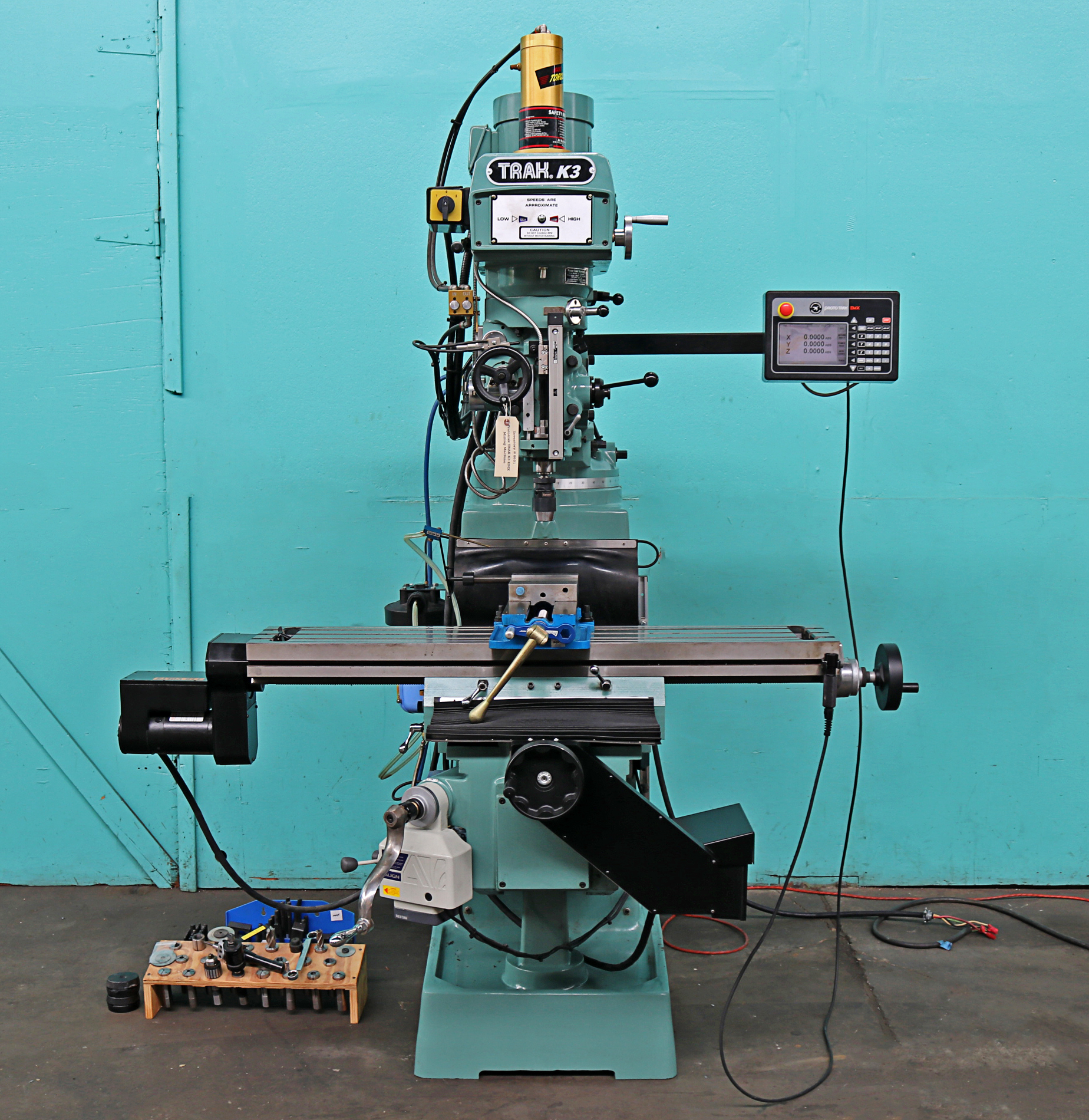 Milling Machine For Sale >> Prototrak 50 X 10 2 Axis Vertical Milling Machine K3 Emx Sale